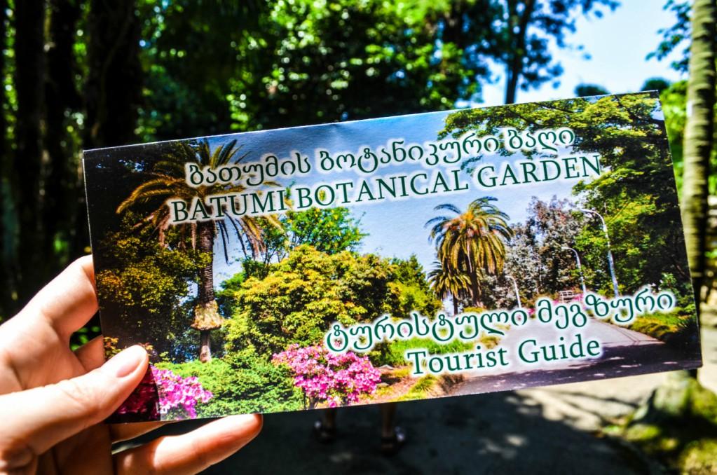 билет в Батумский ботанический сад