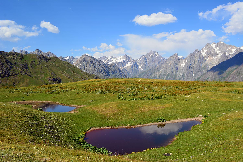 Озера в Сванетии