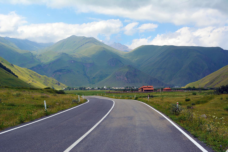 Дорога в Сванетию