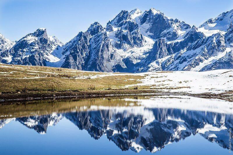 озера корульди в Сванетии