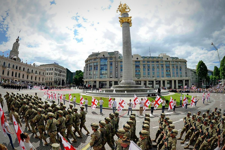 день независимости Грузии Тбилиси 26 мая