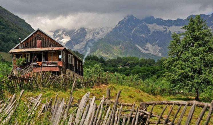Рача в Грузии деревня