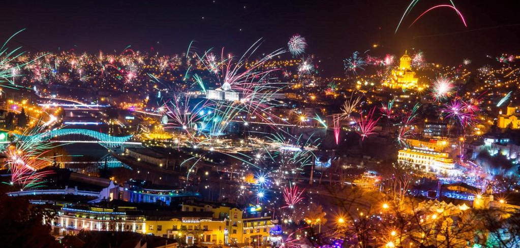 Новый год в Тбилиси 2019