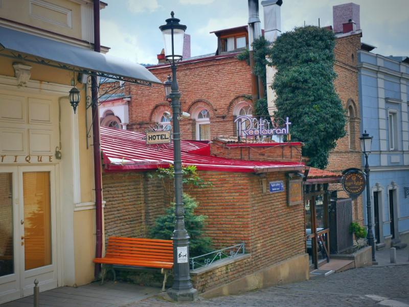 Тур по городу Тбилиси, район Метехи