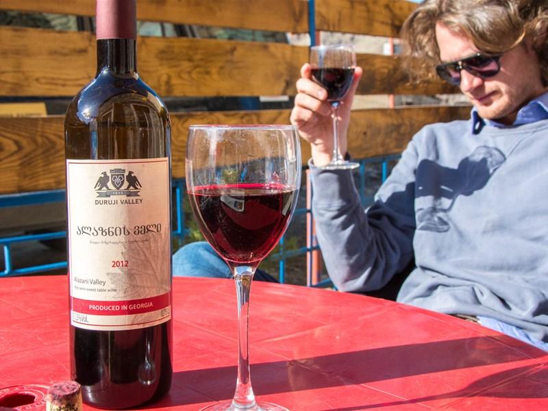 Грузинское вино - Алазнис вели