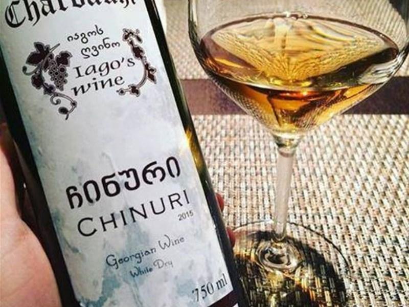 Грузинское вино - Чинури