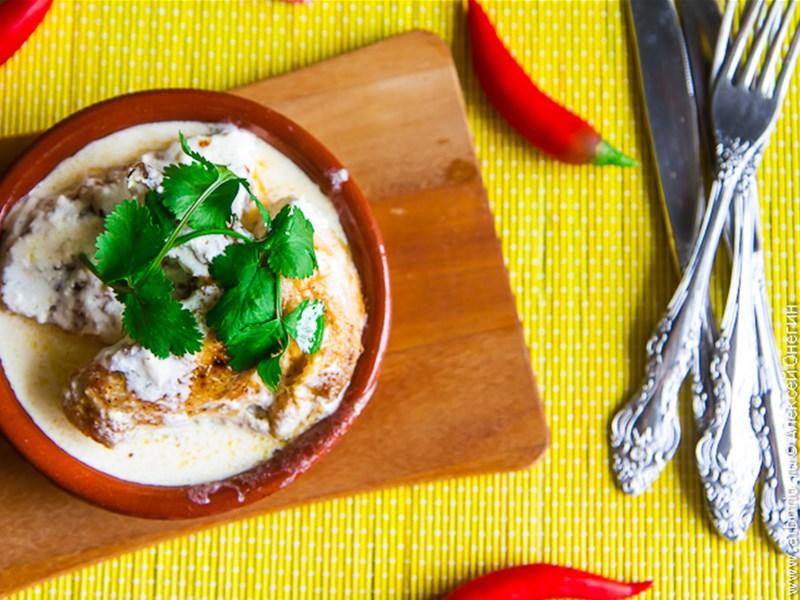 Грузинская кухня, блюдо - Чкмерули