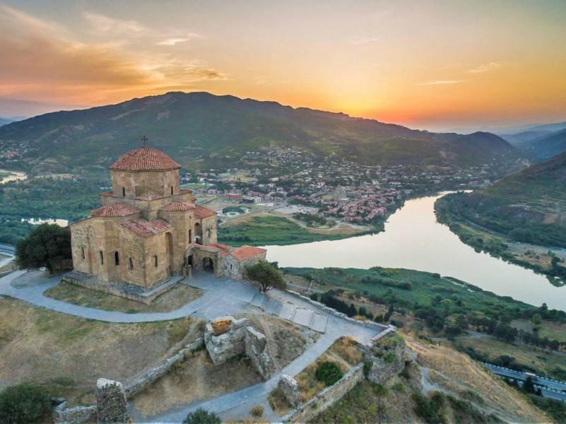 достопримечательность Грузии - Монастырь Джвари (Mцхета)