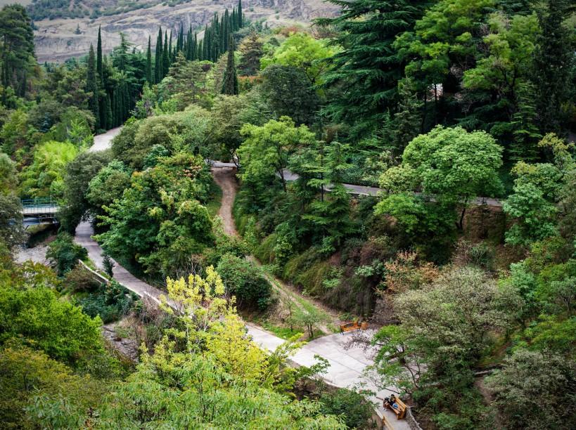 достопримечательность Грузии - Тбилисский ботанический сад