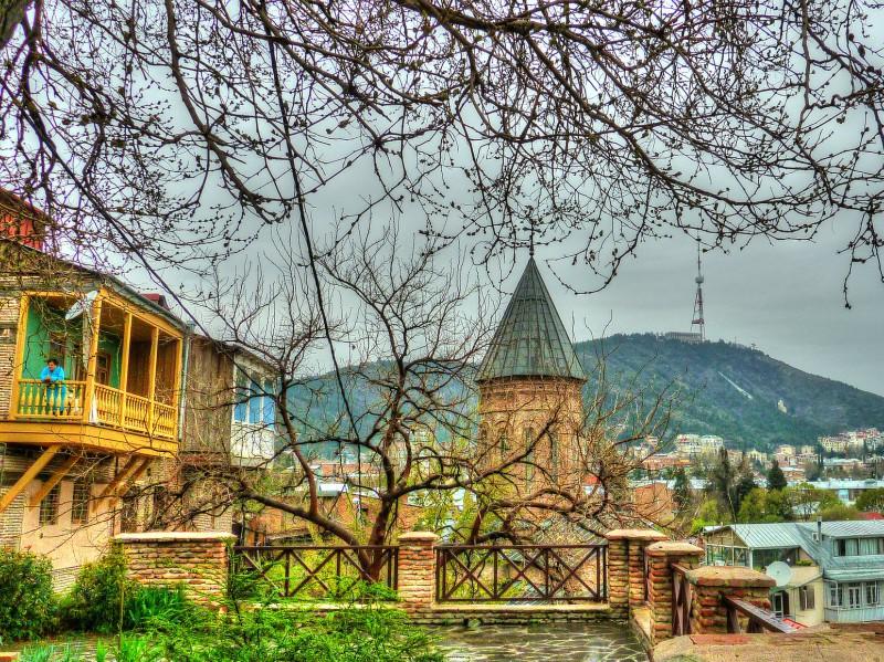 достопримечательность Грузии - Старый Тбилиси