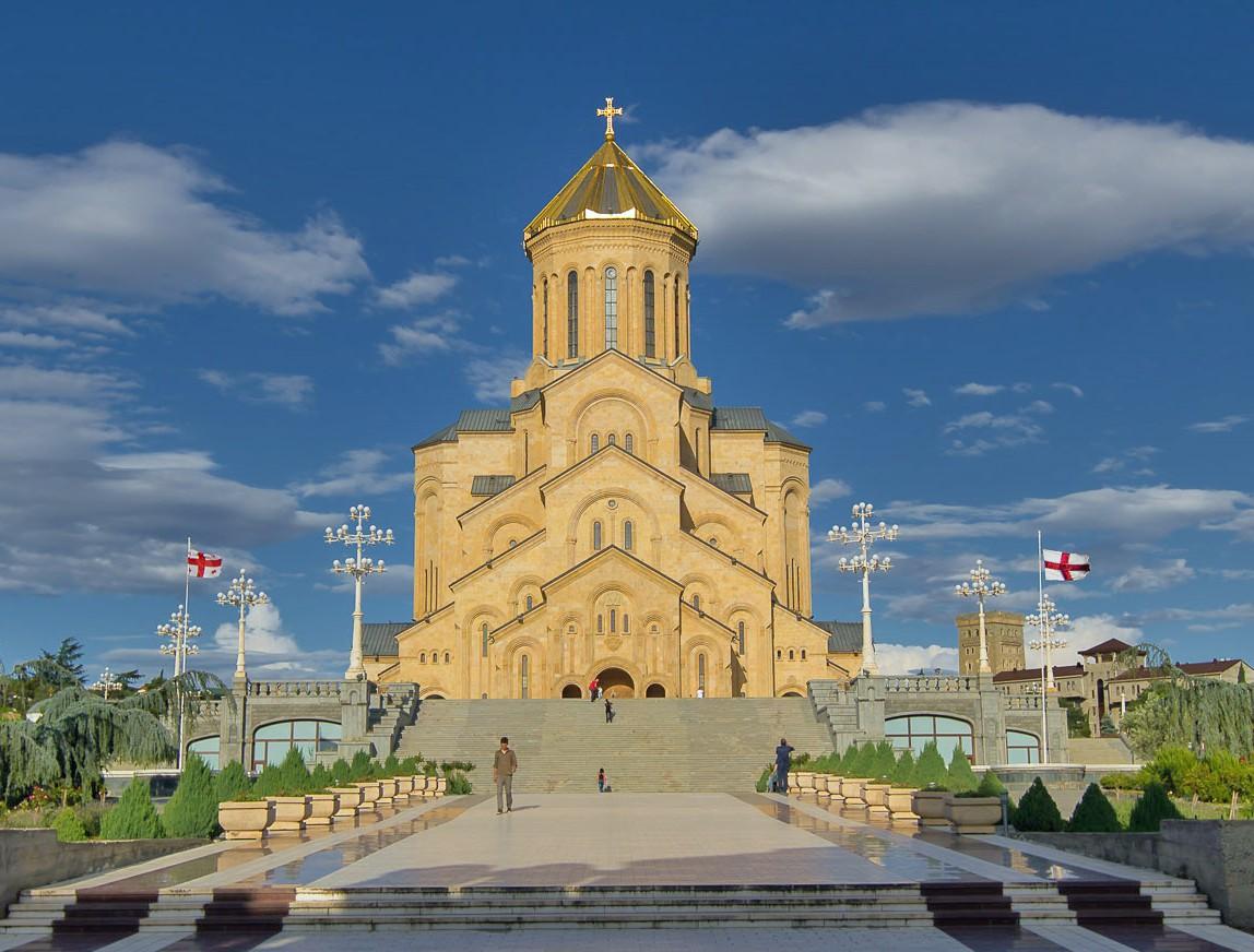 достопримечательность Грузии - Самеба