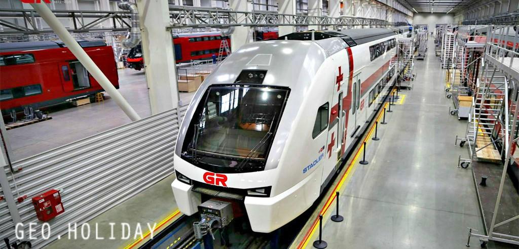 Georgia train, Грузия Тбилиси поезд