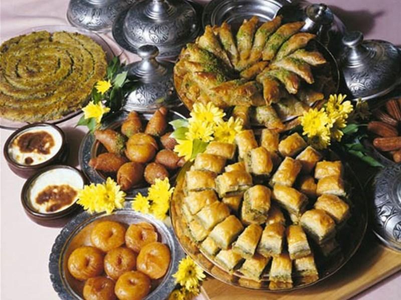 Грузинская кухня, блюдо - Сладости и фрукты Грузии