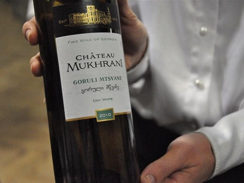 Грузинское вино - Горули Мцване