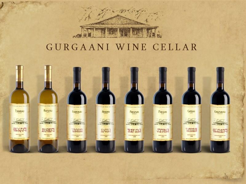 Грузинское вино - Гурджаани