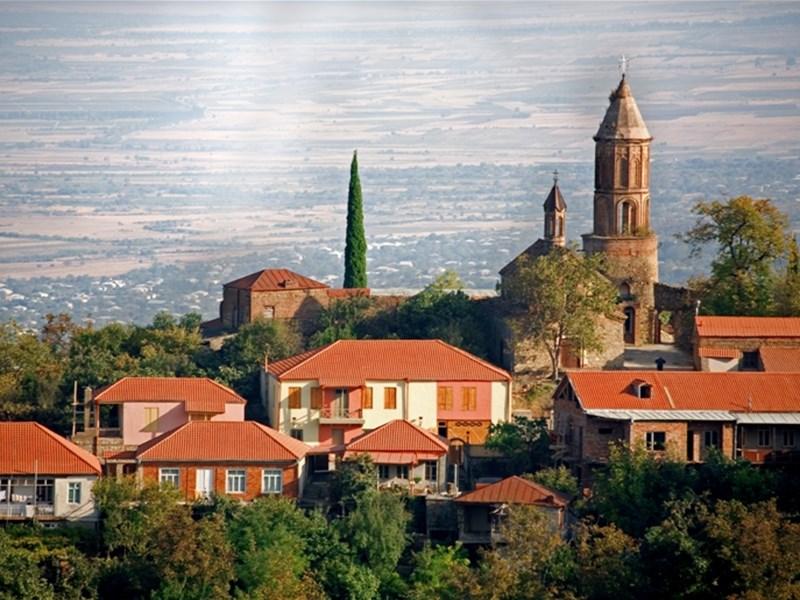 картинка города Грузии - Каспи, image of Georgian city- Kaspi