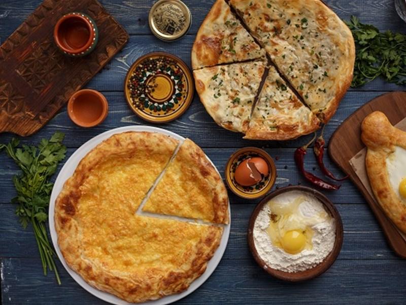 Грузинская кухня, блюдо - Хачапури