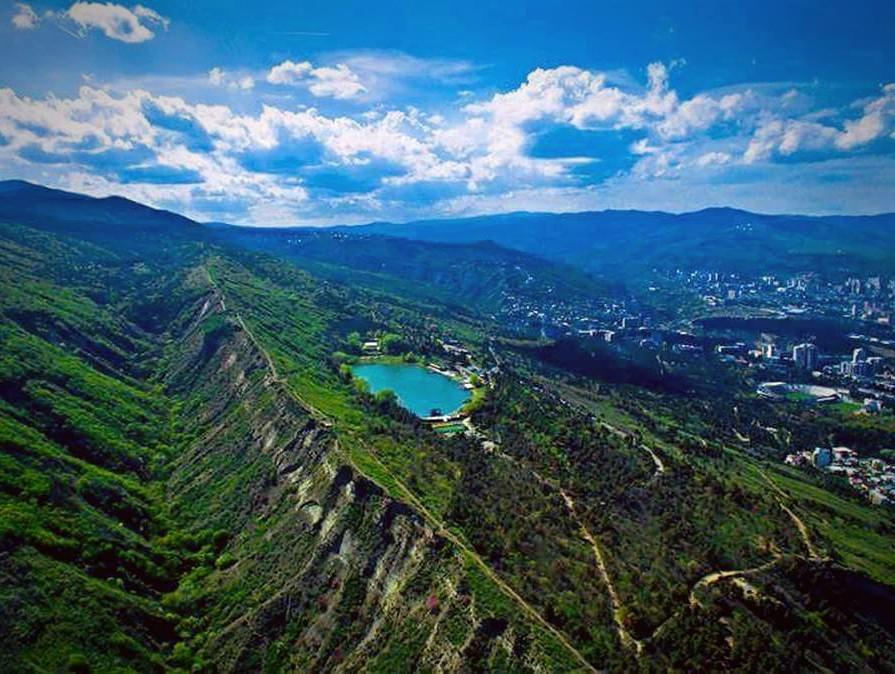 достопримечательность Грузии - Кус Тба (Черепашье озеро)
