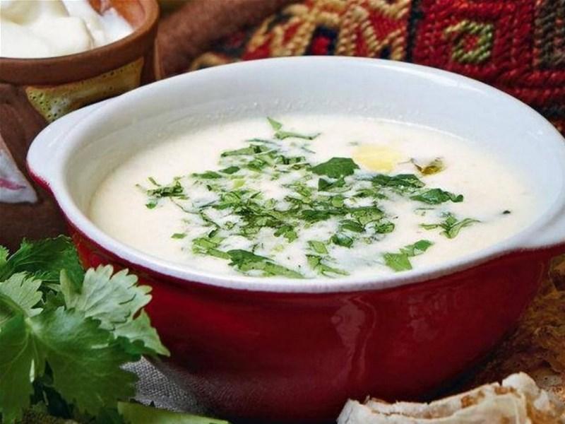 Грузинская кухня, блюдо - Мацони