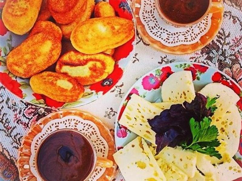 Грузинская кухня, блюдо - Блюда из кукурузы