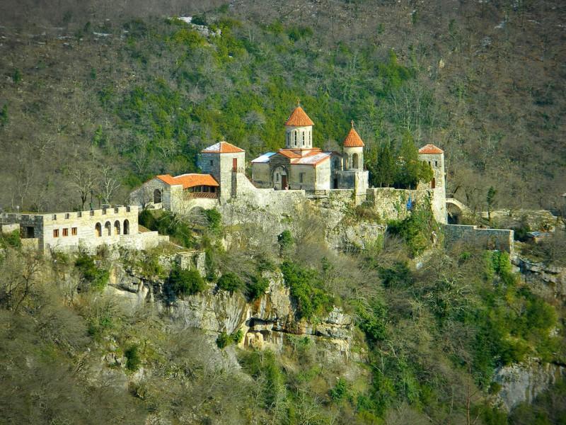 Монастырь Моцамета общий вид