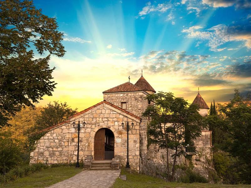 тур Тур (экскурсия) в Кутаиси Моцамета Гелати Пещеры Прометея из Тбилиси