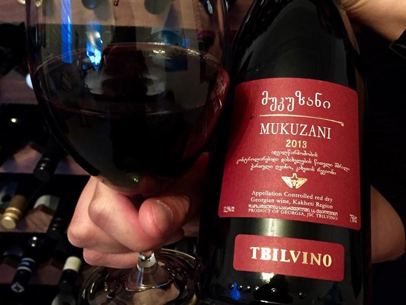 Грузинское вино - Мукузани