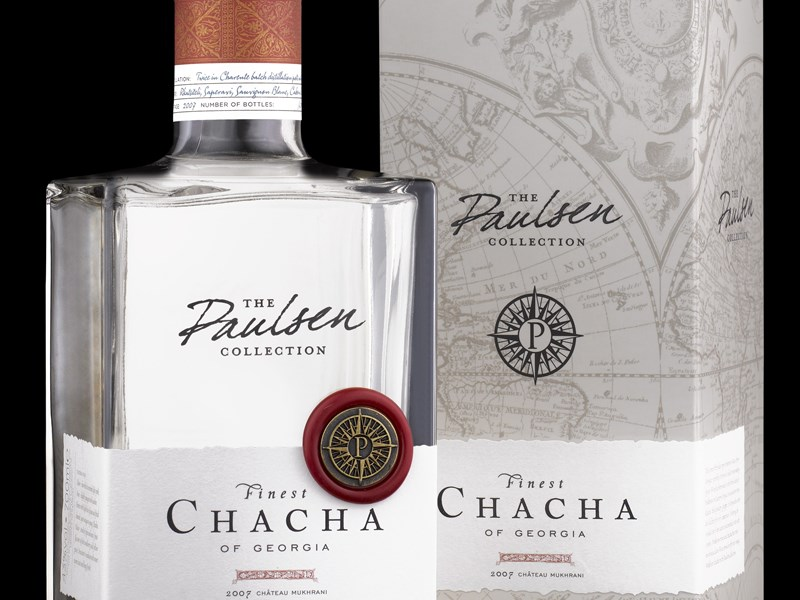 Грузинское вино - Чача