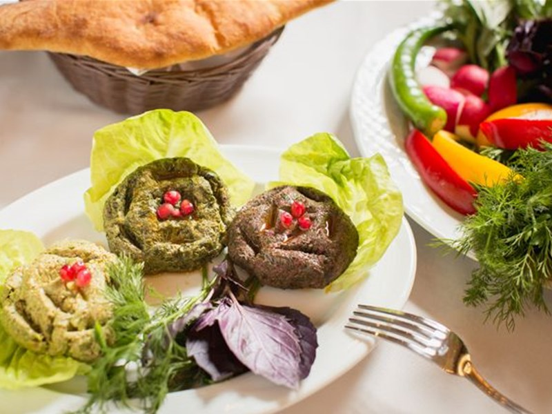 Грузинская кухня, блюдо - Грузинское блюдо Пхали