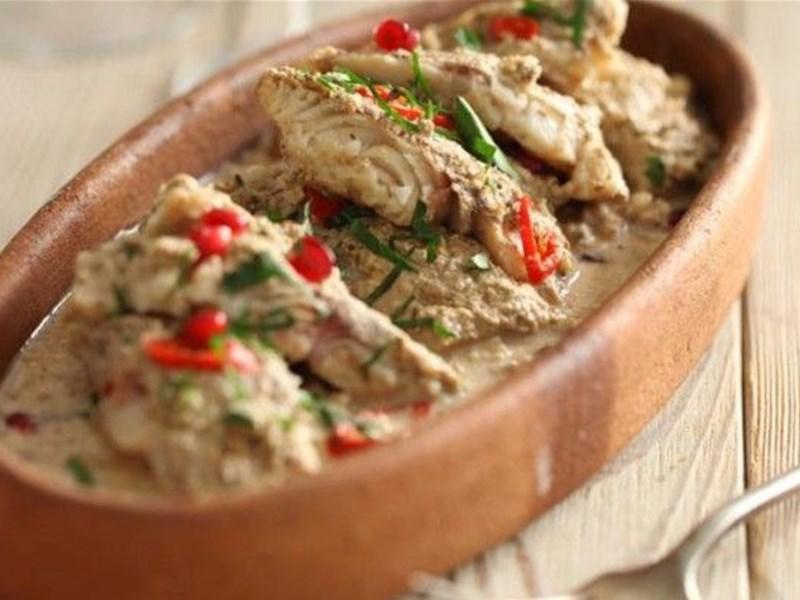 Грузинская кухня, блюдо - Сациви