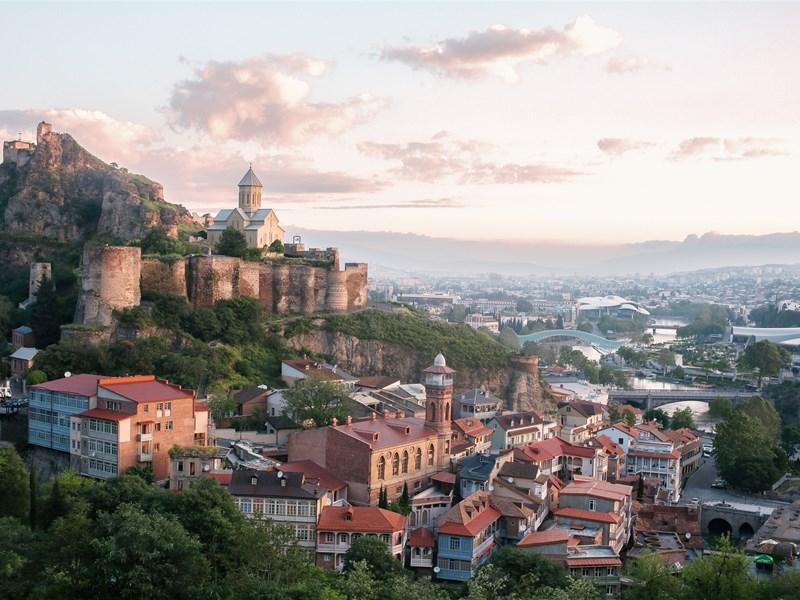 картинка региона - Тбилиси, image of Georgian region - Tbilisi