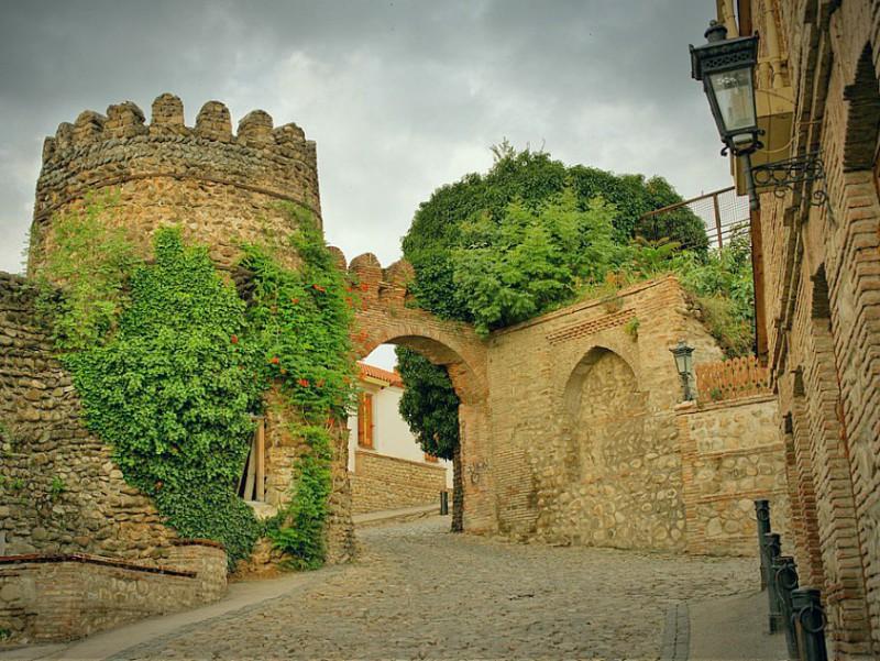 Сигнахи стены крепости